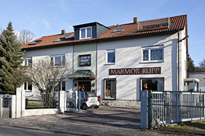 Marmor Rupp - Haus Frontansicht